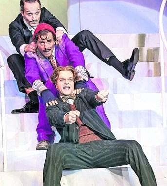 Drei sehens- und hörenswerte Herren: Matthias Luckey, Ahmad Mesgarha und Thomas Eisen (v. l.) Foto: David Baltzer
