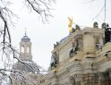 Die Frauenkirche und die Hochschule für bildende Künste.