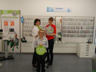 Das Team vom Brillen Storlet steht beratend zur Seite. Foto: PR