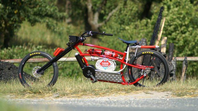 Das Feuerwehr-E-Bike zur FLORIAN 2016