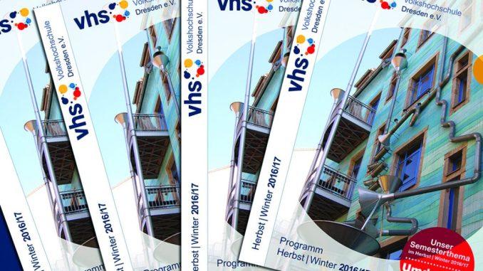 Das neue Kursprogramm der VHS Dresden ist erschienen. Foto: PR
