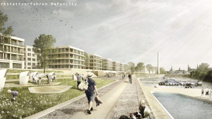 So sieht der neue Entwurf für die Hafencity aus. Foto: USD Immobilien