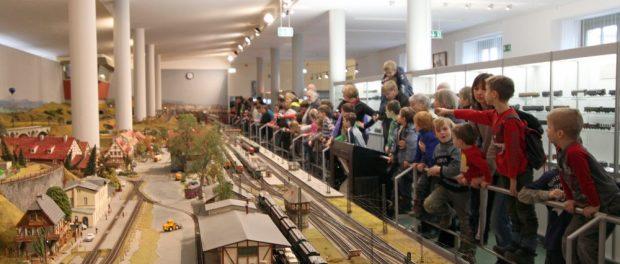 Das Verkehrsmuseum Dresden hat in den Winterferien einiges zu bieten. Foto: PR