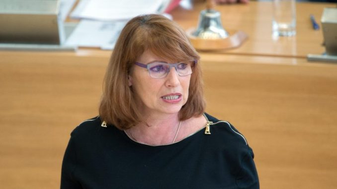 Die Ministerin für Integration in Sachsen, Petra Köpping (SPD). Foto: Arno Burgi/Archiv