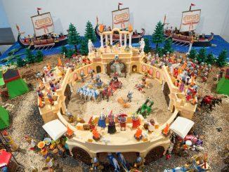"""Ausstellung """"Playmobil Zirkusgeschichte(n)"""". Foto: Sebastian Kahnert/Archiv"""