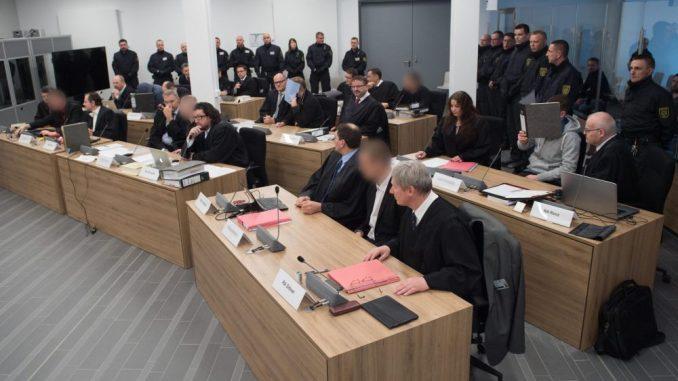 "Prozess gegen die ""Gruppe Freital"". Foto: Sebastian Kahnert"