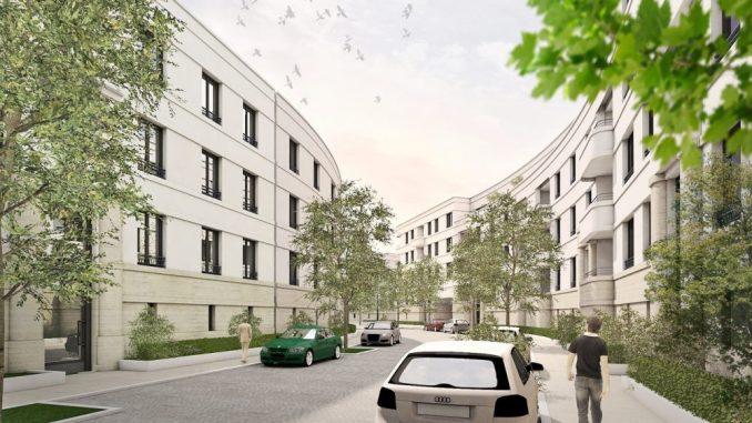 Visualisierung Wohnungen am Bahnhof Mitte, 00430 KÖ 25, Dresden