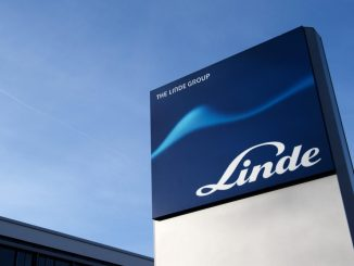 Das Logo des Technologiekonzerns Linde. Foto: Arno Burgi/Archiv