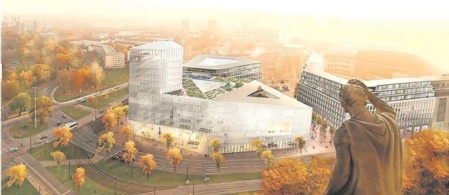 Baugrunduntersuchung für Verwaltungszentrum am Ferdinandplatz hat begonnen