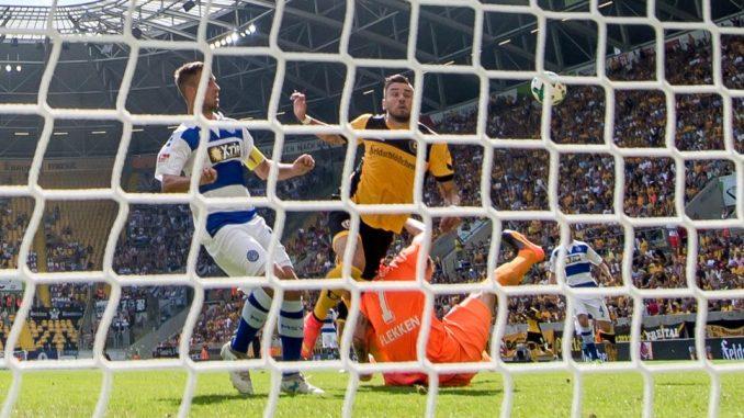 Dynamo darf ohne wirtschaftliche Auflagen 2019/2010 spielen. Foto: Thomas Eisenhuth