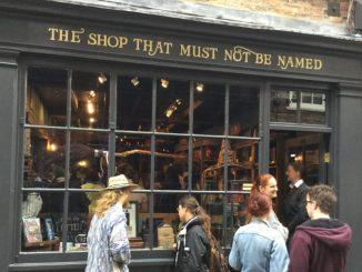 Der Shop, dessen Name nicht genannt werden muss Foto: Jan Schütt