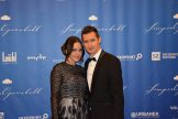 St. Georg Orden-Preisträger: der Fussballer Miroslav Klose mit Ehefrau.