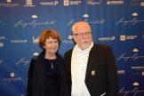 Der letzte Ministerpräsident der DDR. Lothar de Maziere kam mit seiner Ehefrau.