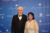 Opernball-Initiator Hans-Joachim Frey und Preisträgerin Dr. Ameenah Gurib-Fakim, Präsidentin der Republik Mauritius