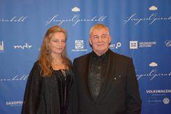 Schauspieler Heinz Hoenig und Ehefrau.