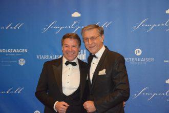 Schlagersänger Patrick Lindner und Ehemann.