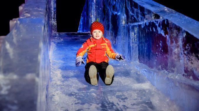Die Eiswelten sind noch bis Sonntag in der Zeitenströmung zu sehen. Foto: Michael Schmidt - www.schmidt.fm