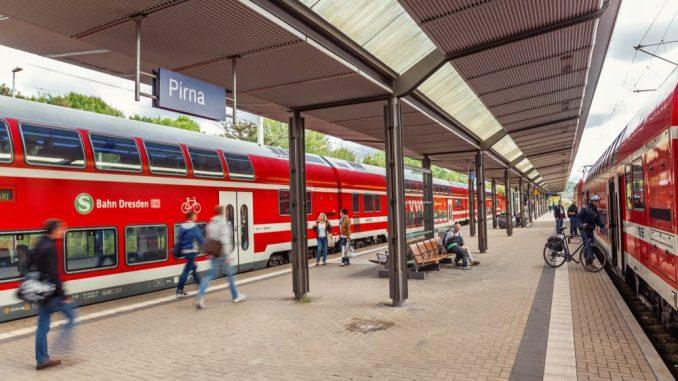 Die S-Bahn Dresden konnte im letzten Jahr einen Fahrgastrekord verzeichnen. Foto: Neumann