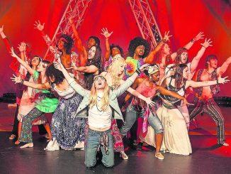 Das HAIR-Musical am 23. März in Dresden. Foto: PR
