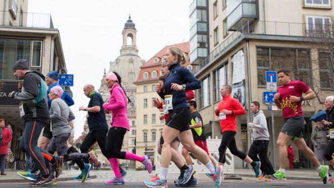 Der Citylauf startet am Sonntag in Dresden. (Foto: Norbert Wilhelmi)