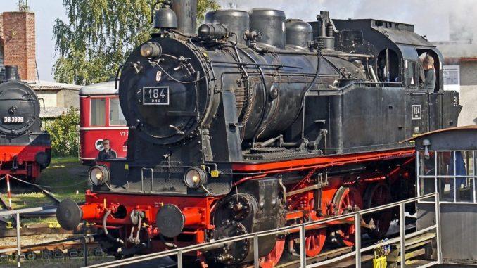 10. Dampfloktreffen in Dresden.