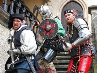 Barden und Ritter sind auf dem Mittelalterfest zu bestaunen. (Foto: PR)