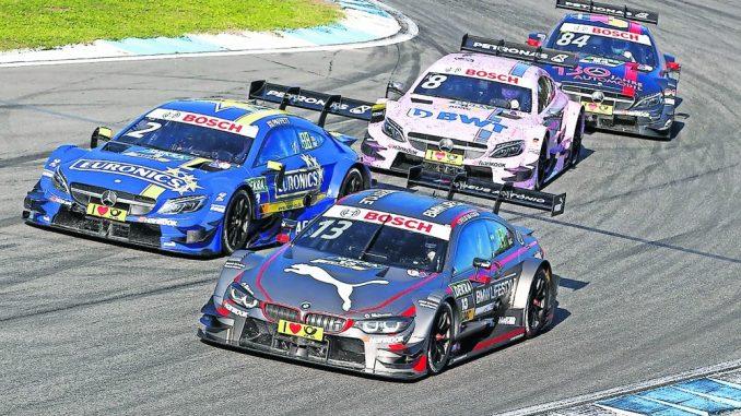 Die DTM lockt Motorsportbegeistere auf den Lausitzrung. Foto: PR