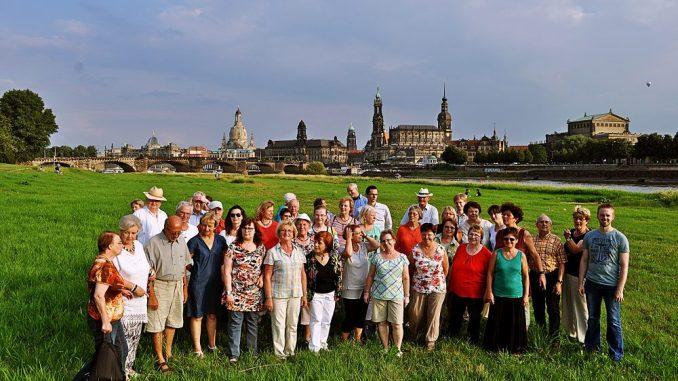 Der Friedrich-Wolf-Chor aus Dresden. (Foto: PR)