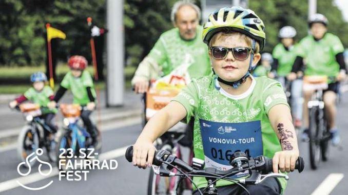 Das SZ-Fahrradfest ist ein Erlebnis für Groß und Klein. Foto: Michael Schmidt