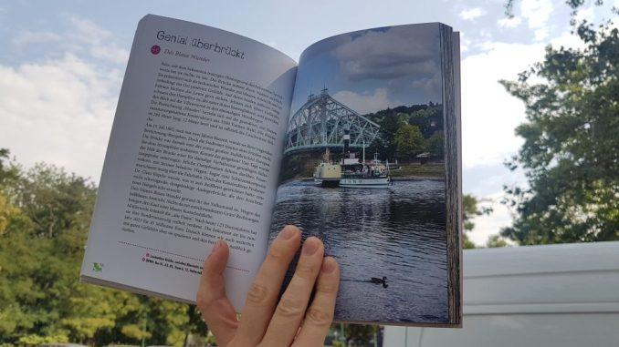 Orte in Dresden, die einfach glücklich machen. Alle in einem Buch. Foto: F. Sommer