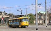 Mit Lottchen durch die Stadt. (Foto: DVB AG)