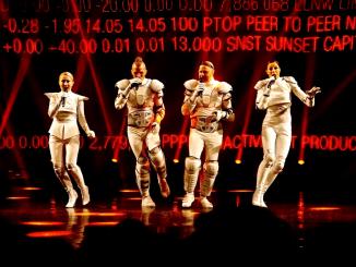 Die finnische A-Capella-Band FORK. Foto: PR
