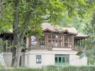 Chinesischer Pavillion, Bautzner Landstraße 17. Foto: Rene Meinig
