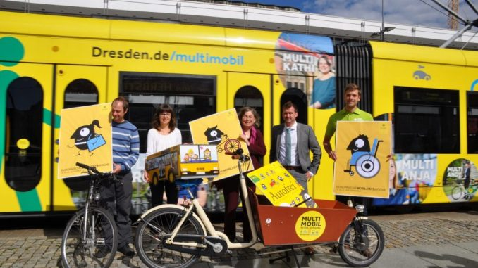 Stadt und Partner laden wie schon 2017 zu zahlreichen Veranstaltungen anlässlich der Mobilitätswoche ein (Foto: Klimaschutzstab Landeshauptstadt Dresden)