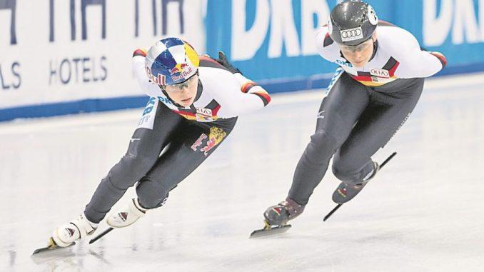 Short Track ist nicht nur etwas für Erwachsene. (Foto: ronaldbonss.com/ Bonss)