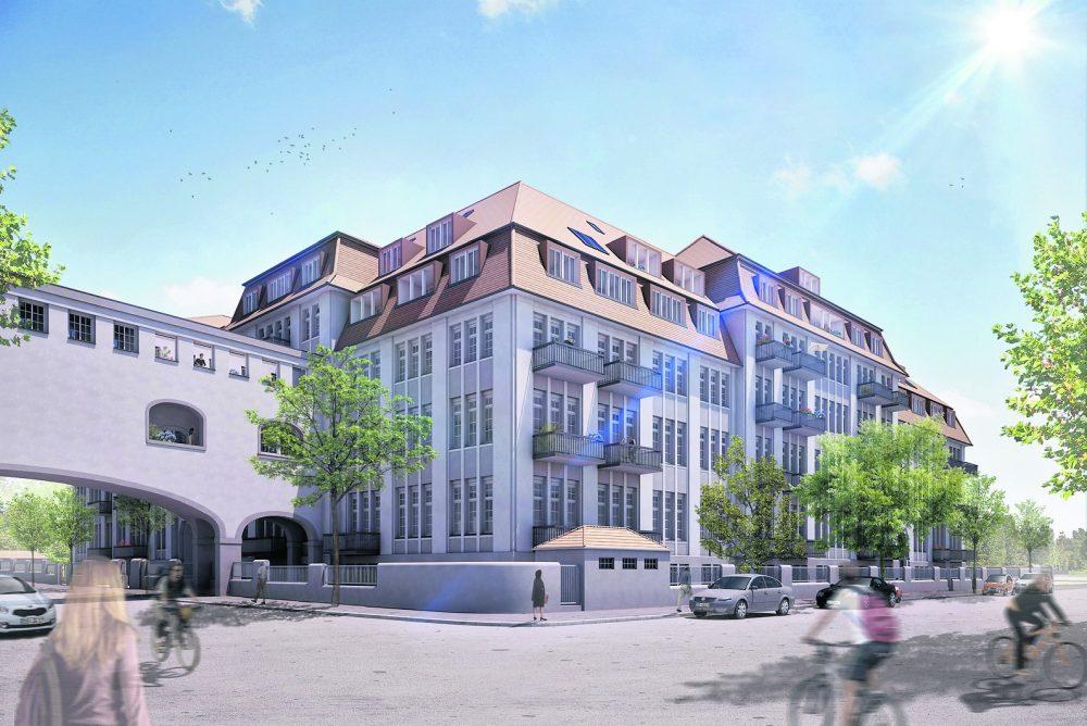 Neue Wohnungen in alter Dresdner Zigarettenfabrik