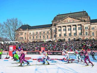 Auch beim zweiten Auftritt der Langlauf-Elite am Elbufer wird es wieder spektakuläre Rennen geben