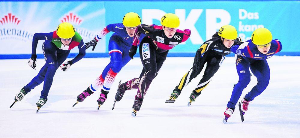 Tickets für Short Track Weltcup zu gewinnen