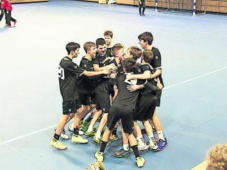 Die Jungen der C-Jugend vom HC Elbflorenz haben in der laufenden Spielzeit häufig Grund zum Jubeln, denn sie liegen momentan an der Tabellenspitze der Sachsenliga.