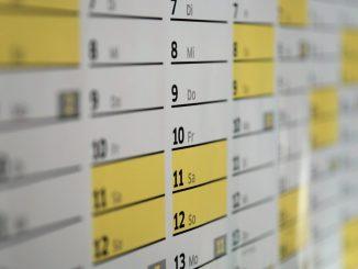 Buß- und Bettag - Kalender
