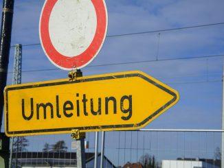 Umleitung Verkehrseinschränkungen Dresden
