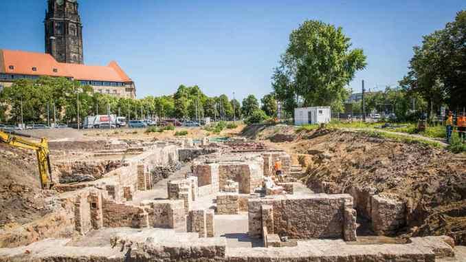 Verwaltungszentrum Bauarbeiten