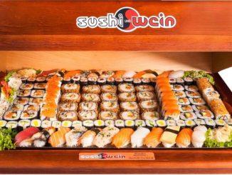 So eine leckere Sushibox für gibt es beim Firmen-Gewinnspiel als Preis. Foto: PR