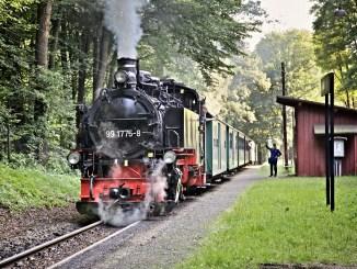 Lößnitzgrundbahn am Wochenende mit mehr Fahrten