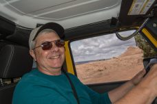 Dean at the wheel