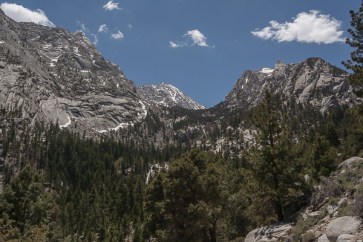 Hiking at Whitney Portal