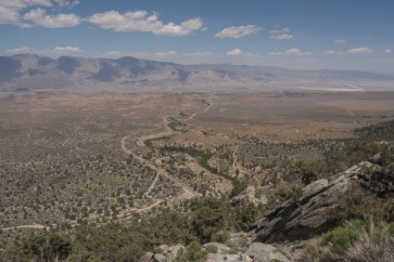 View of Lone Pine Valley from Whitney