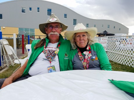 Navigator Tent Volunteer