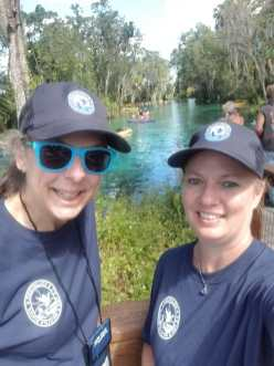 Me and Valerie at Three Sister Springs
