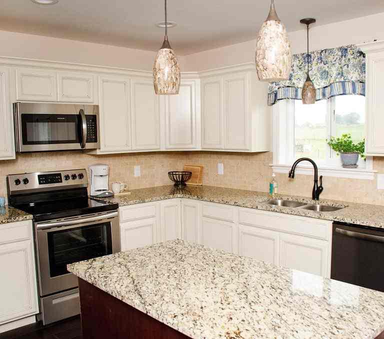 Dawson Retreats near Missouri star quilt co hotel villa kitchen